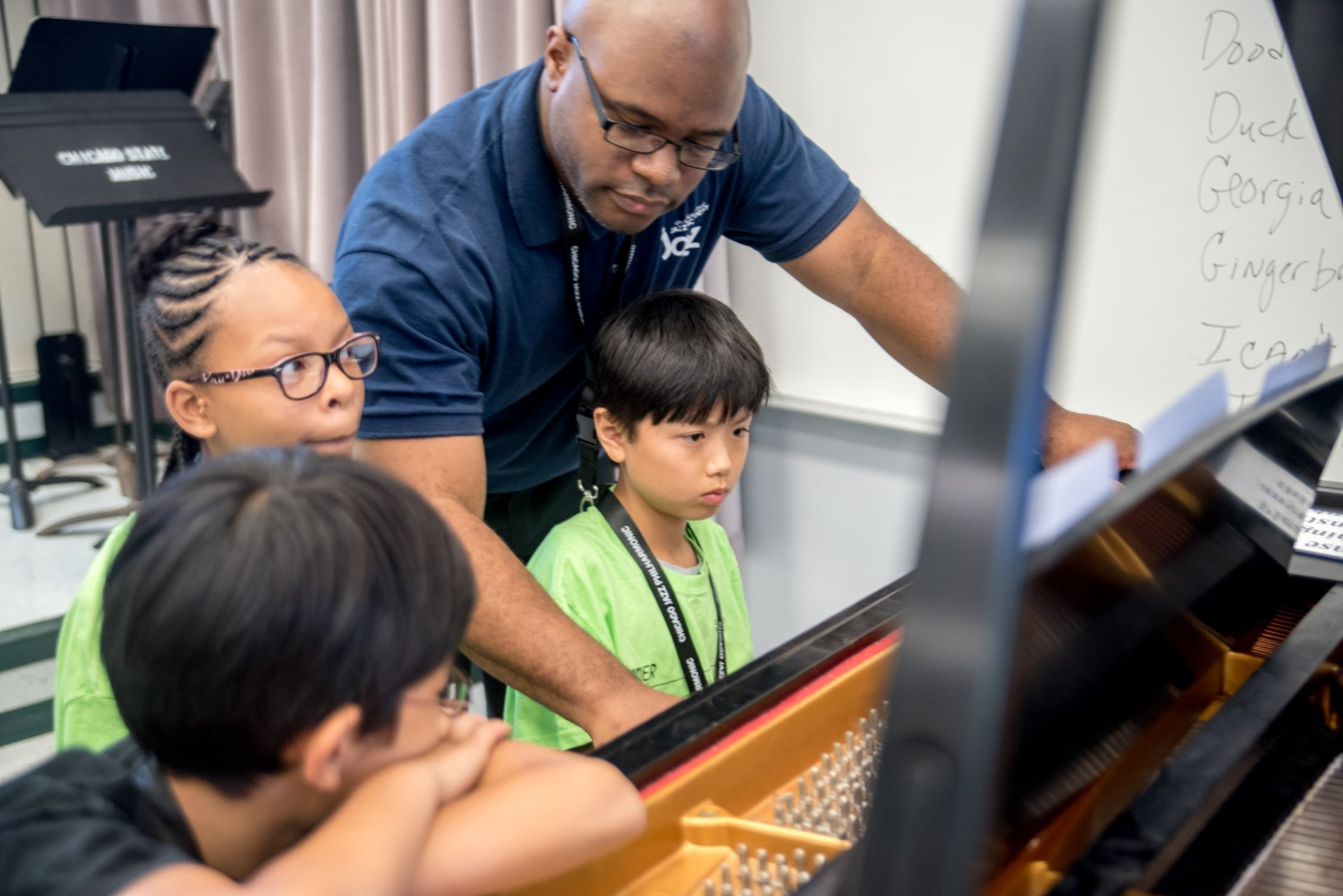 Education at the Chicago Jazz Philharmonic